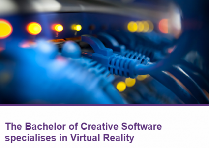 Study the Bachelor of Creative Software with AMES - the